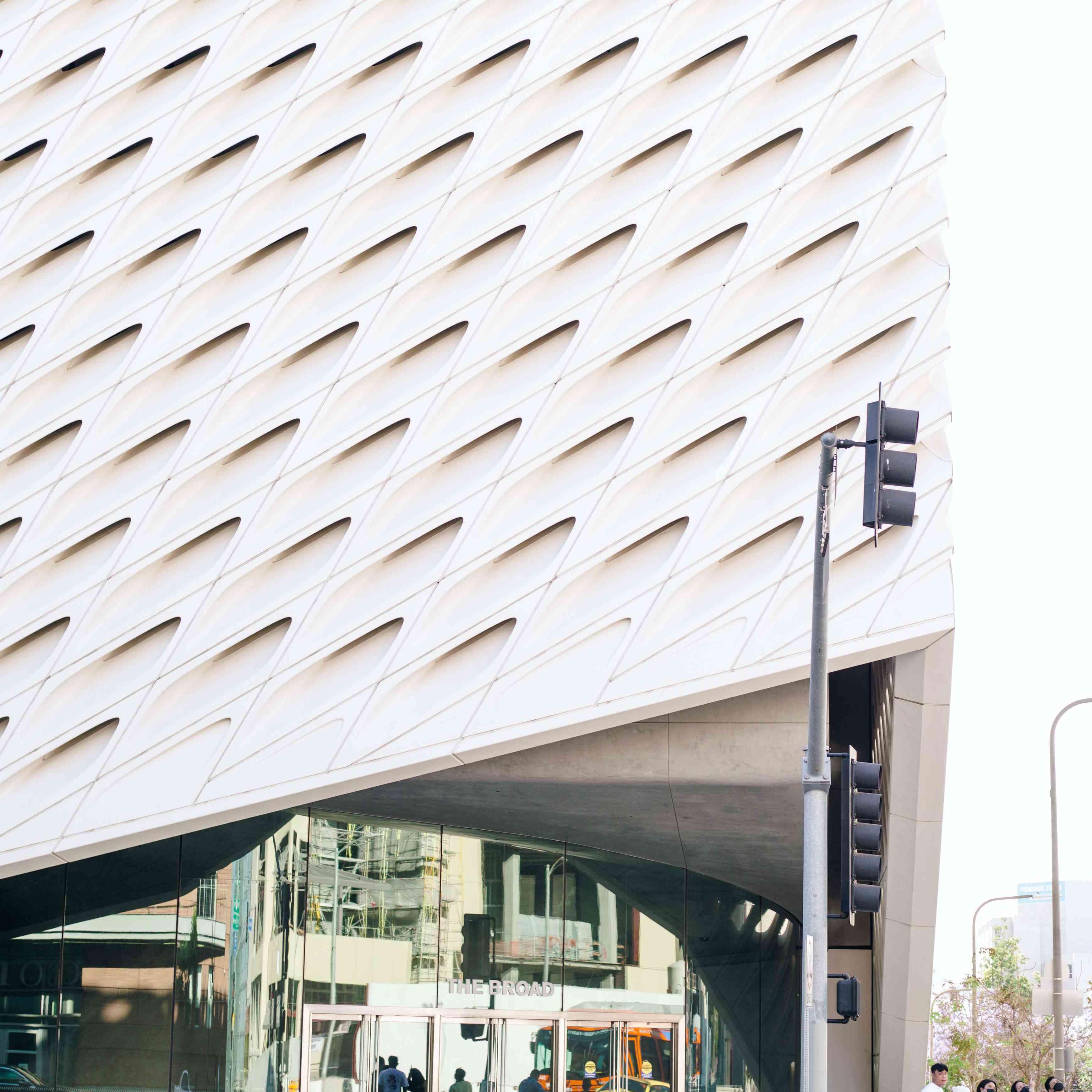 The Broad Museum in LA