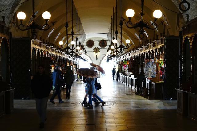 Krakow's Market Hall
