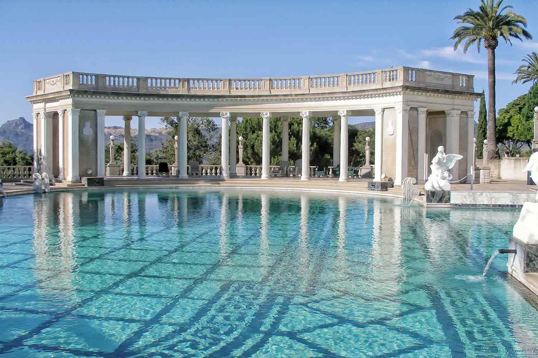 Neptune Pool - Hearst Castle