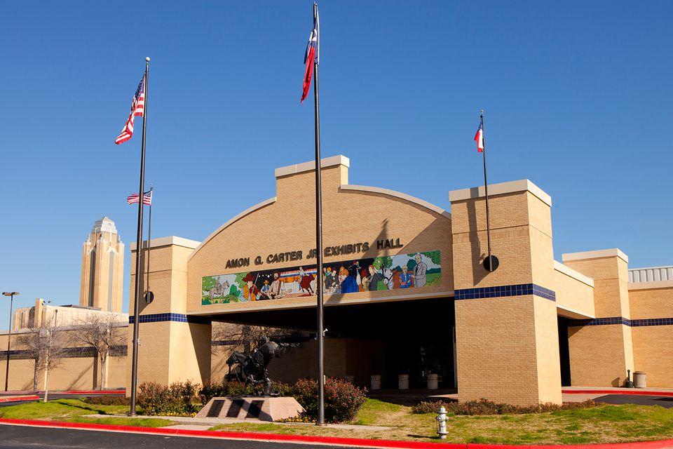 Amon G. Carter Jr. Exhibits Hall -Ft Worth Texas Landmark