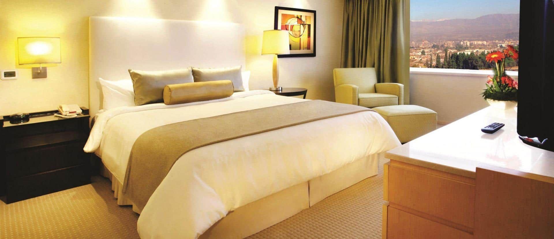 Hotel room at the Intercontinental Mendoza