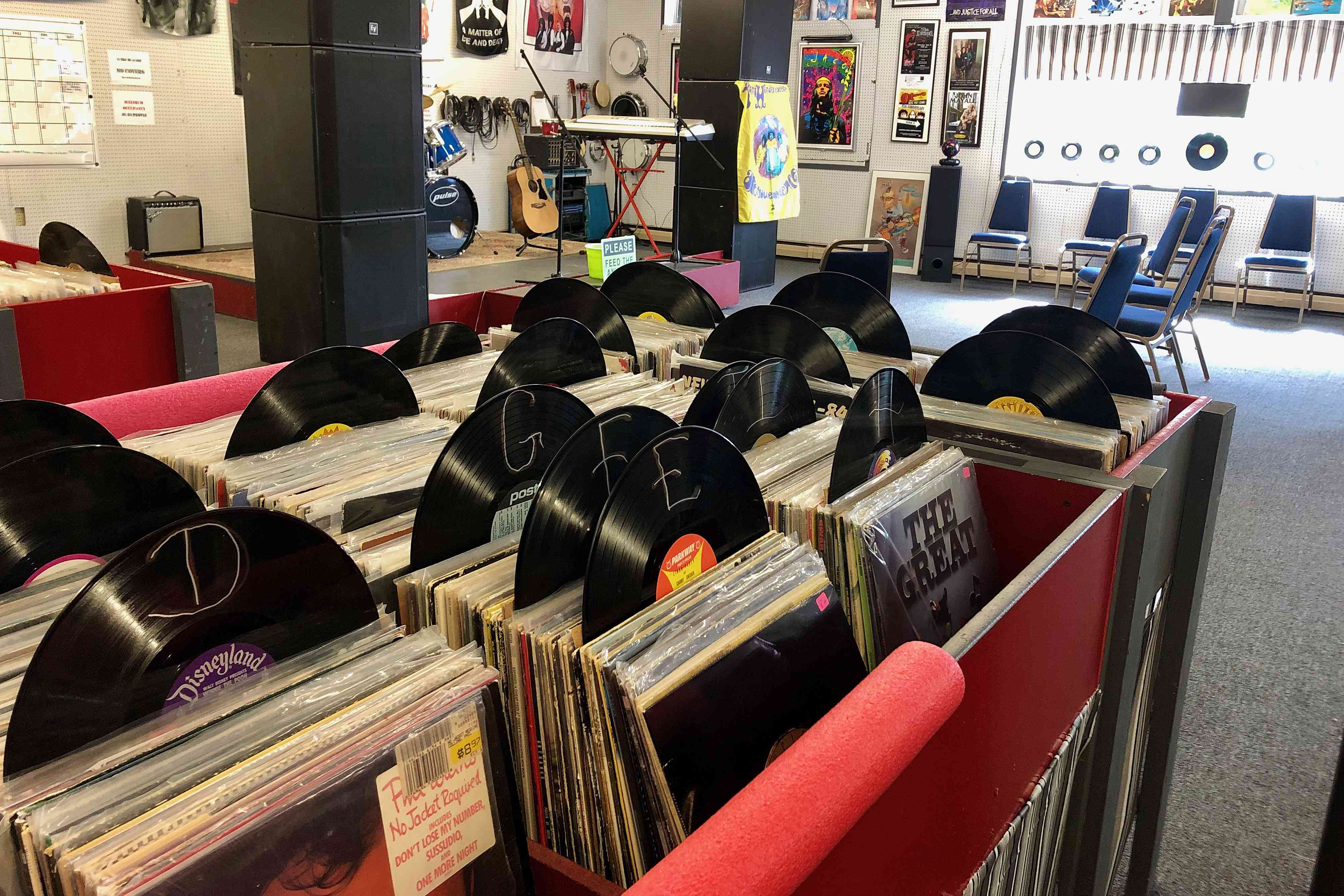 Howlin Mouse Record Store Rutland Vermont