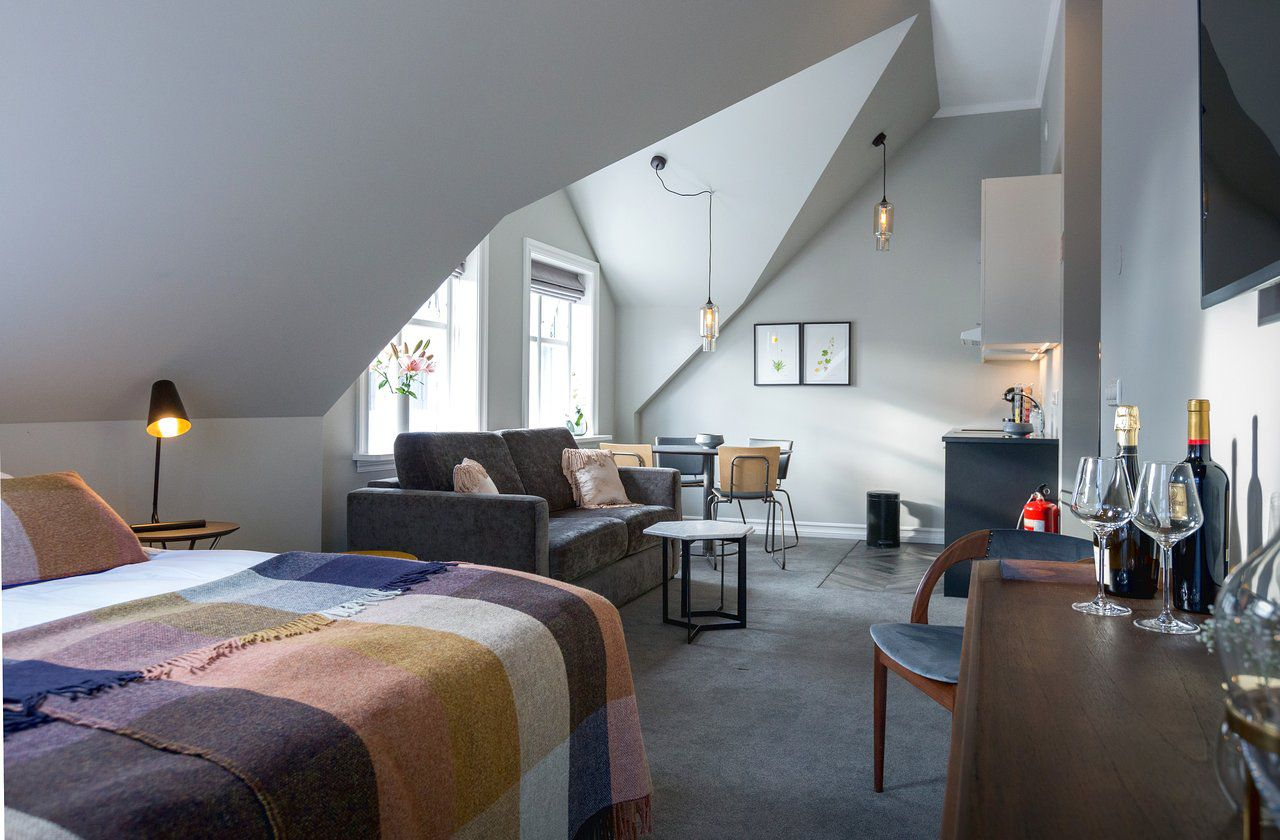 Junior suite at the Reykjavik Residence Hotel