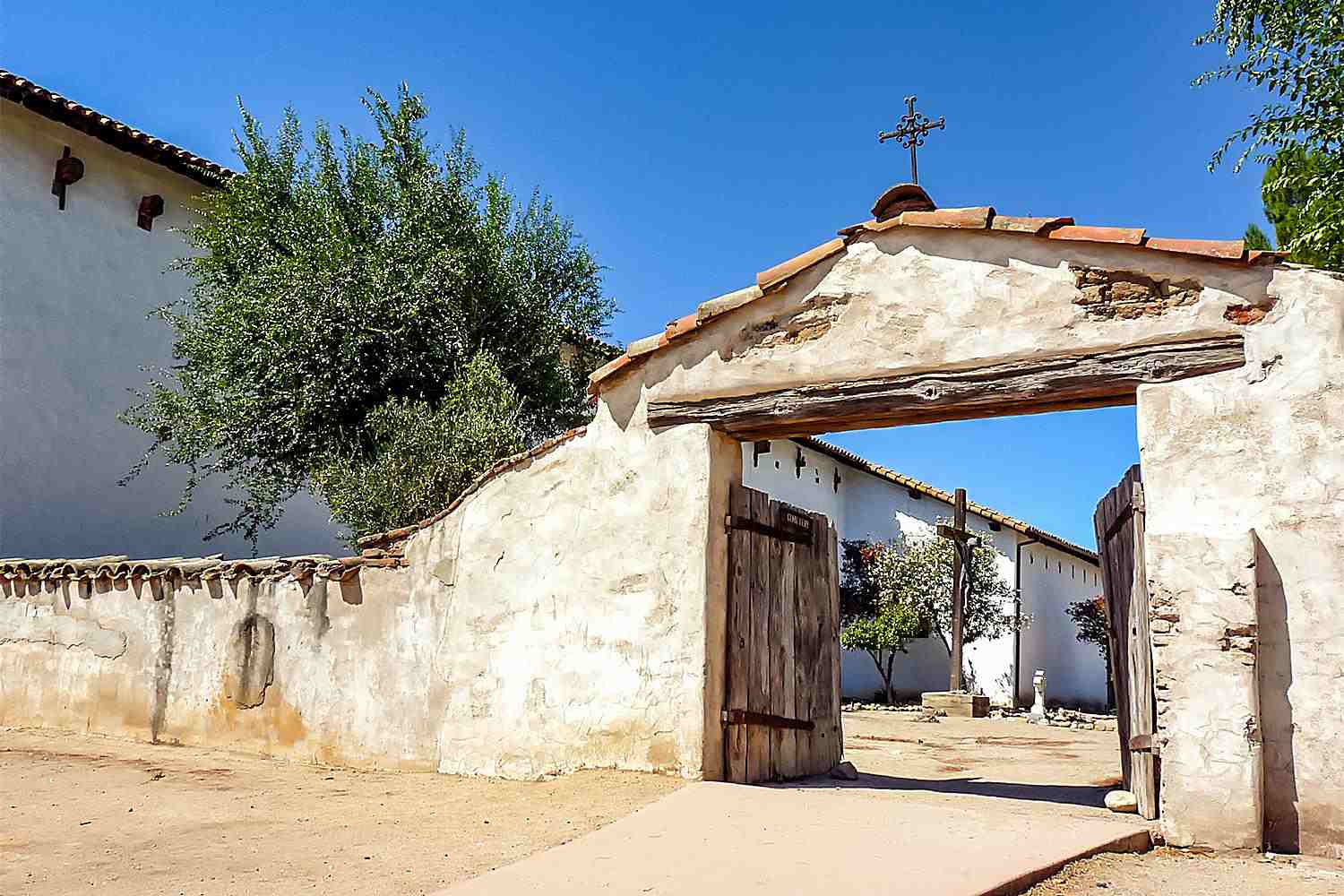 Cemetery at Mission San Miguel