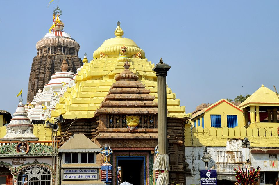 Main entrance to the Jagannath Temple in Puri.