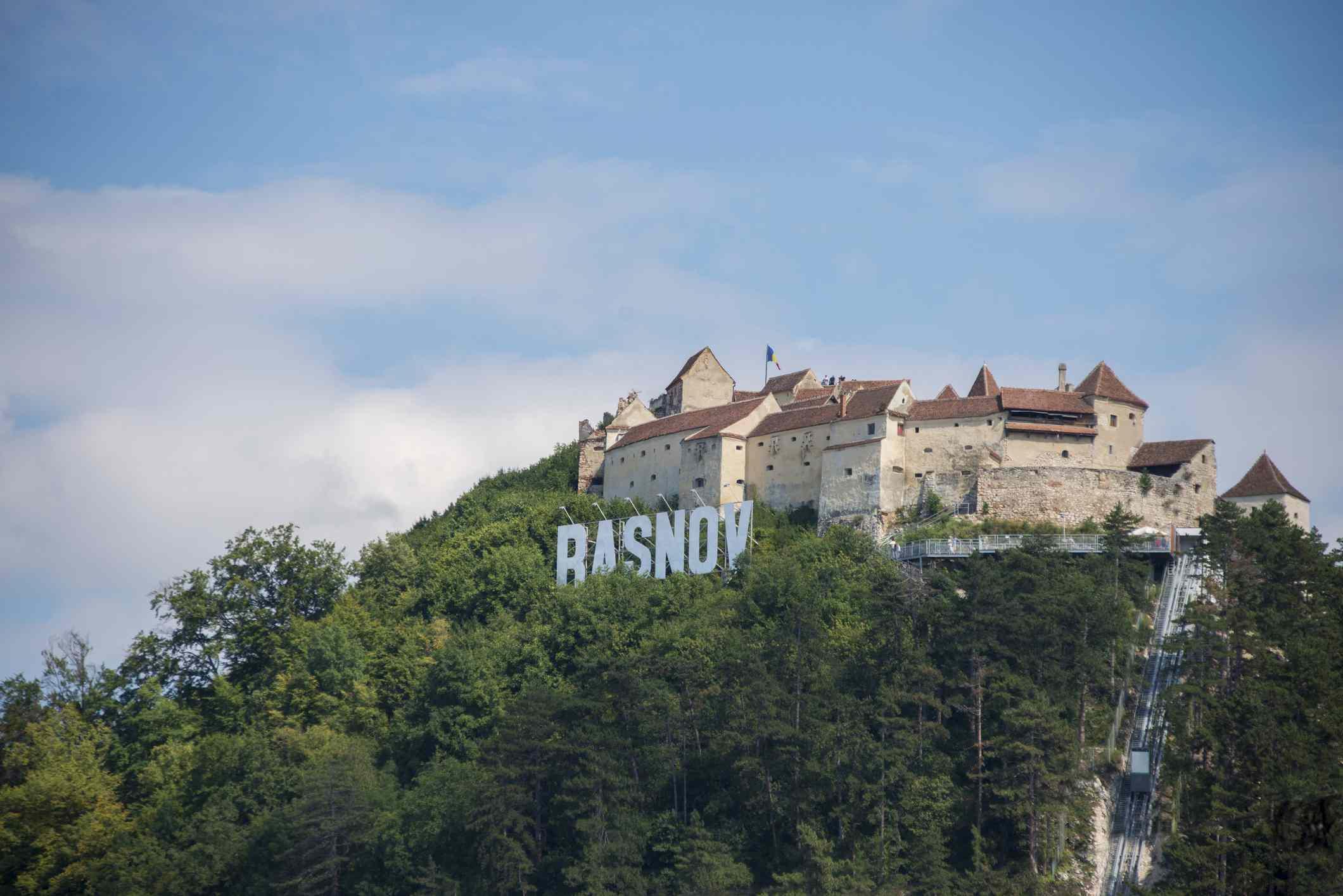 Ciudadela fortificada de Rasnov, Transilvania
