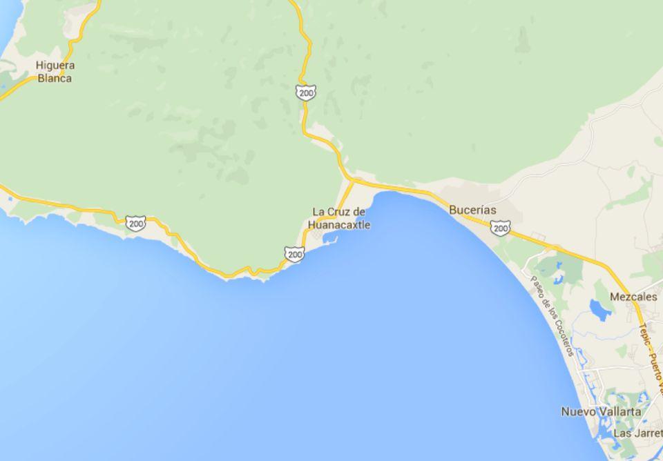 Maps of Riviera Nayarit Mexico