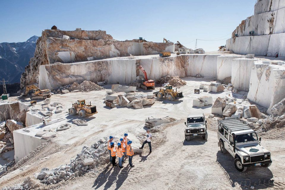 Jeep Tour of Carrara Marble Quarries in Tuscany