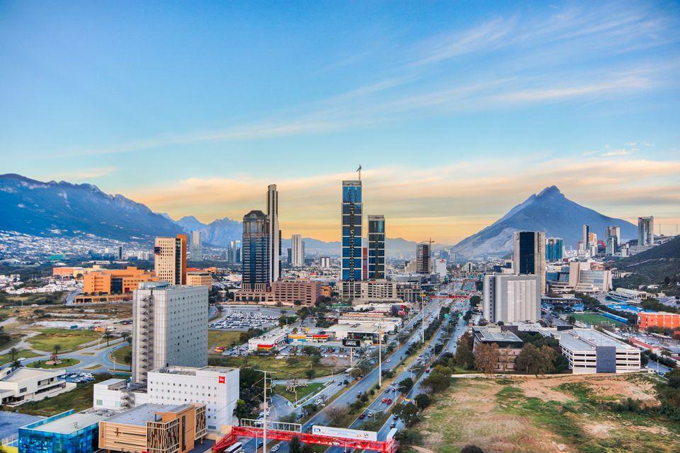 Monterrey, México paisaje urbano