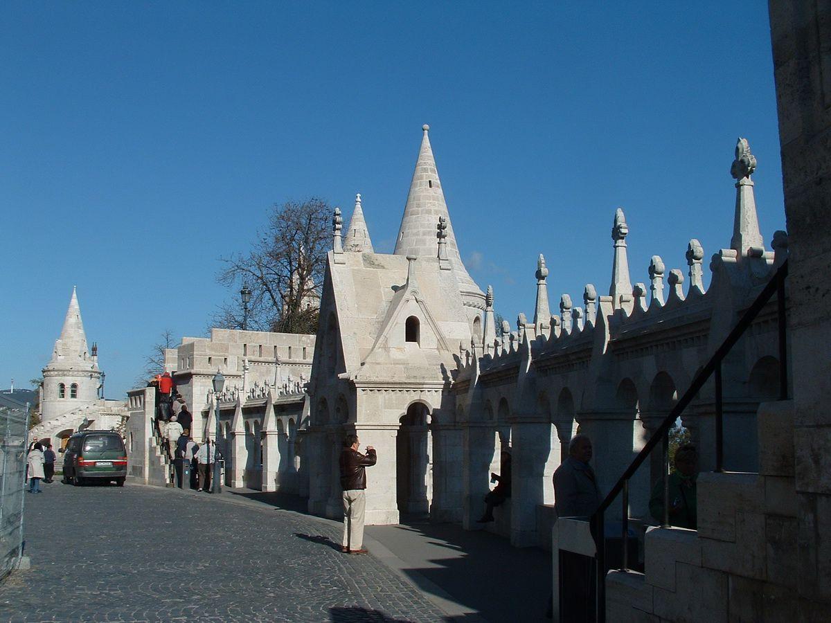 Fishermen's Bastion in Budapest, Hungary