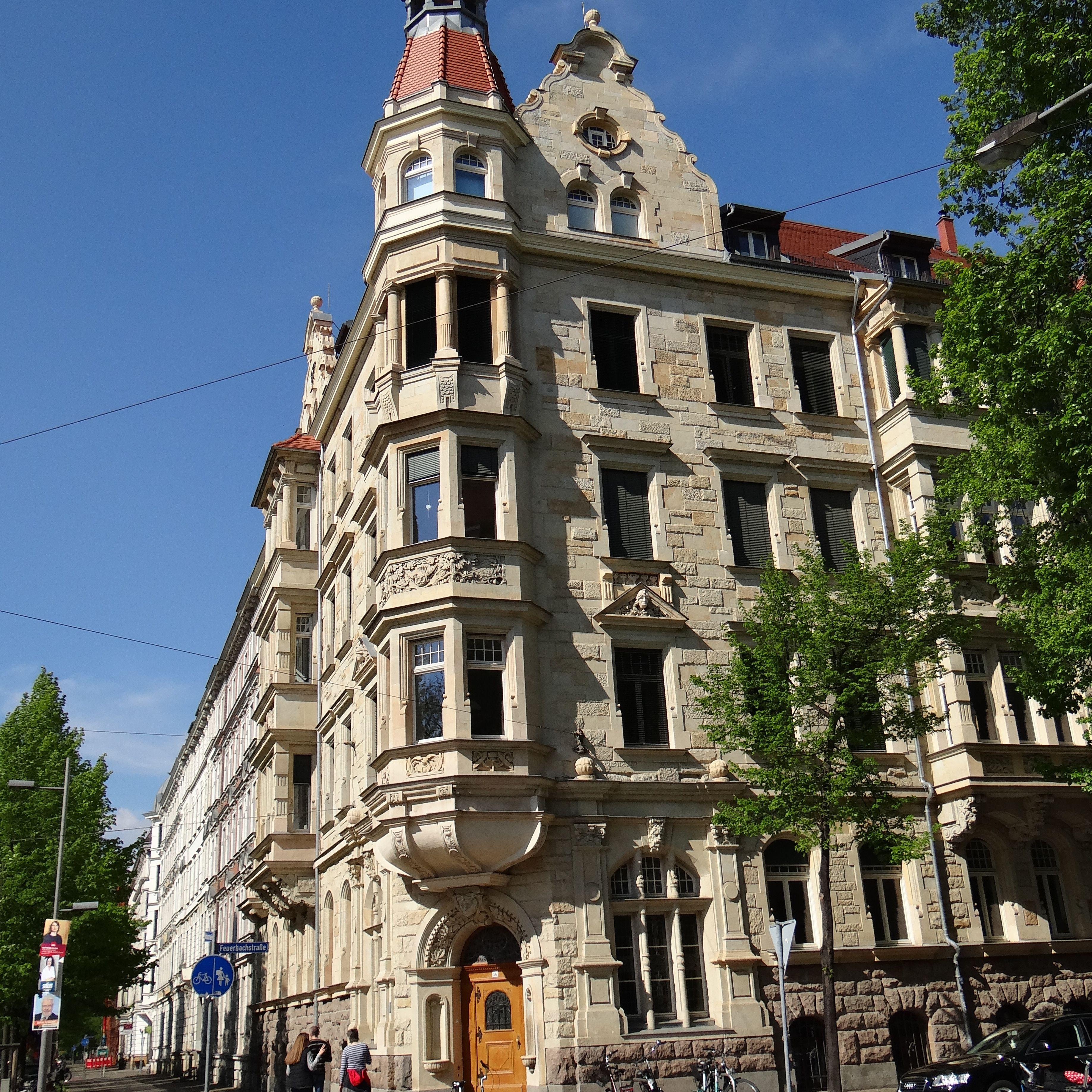 Waldstraßenviertel en Leipzig