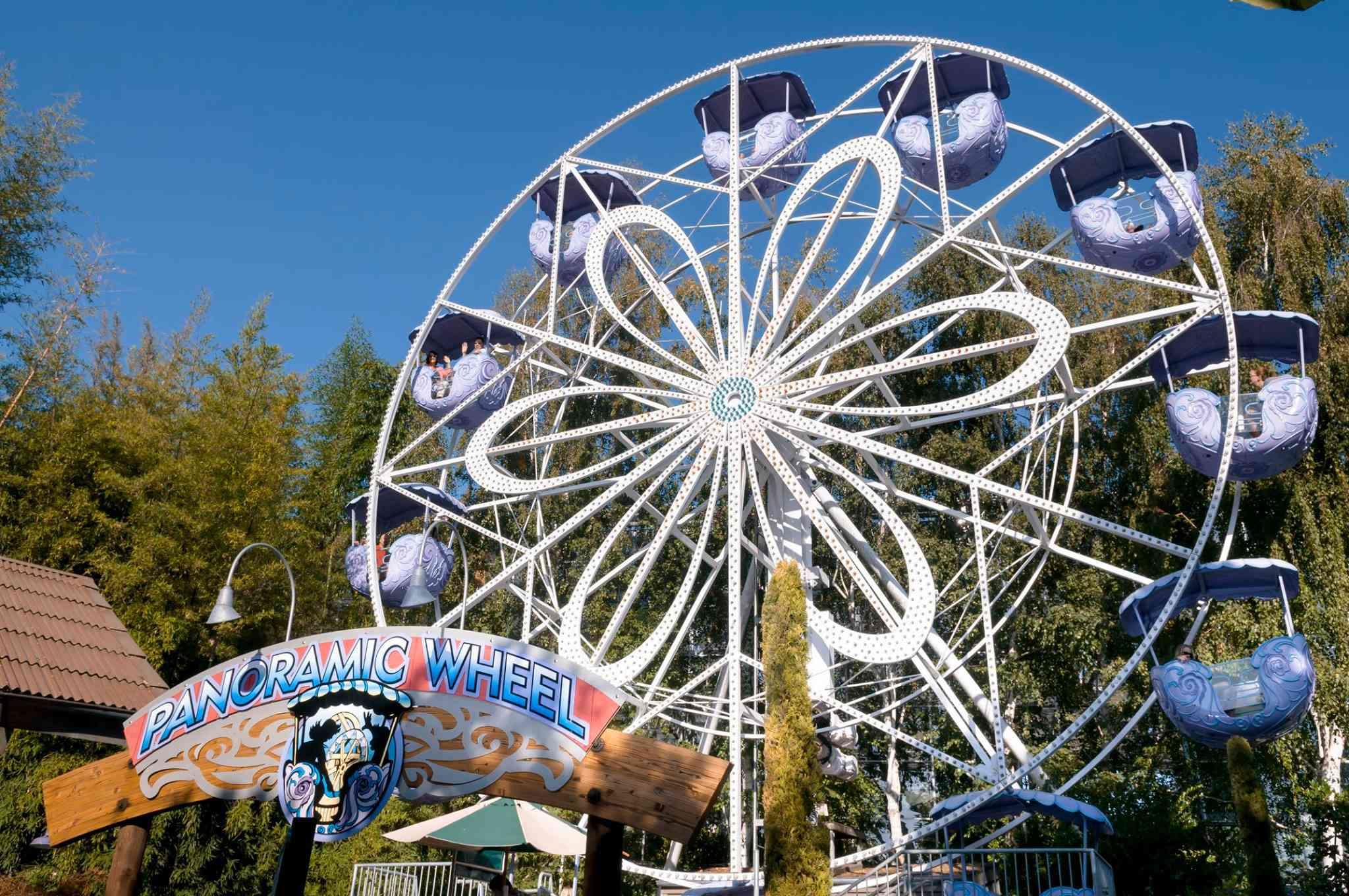 Gilroy Gardens Ferris wheel