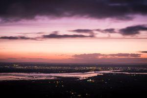 Sunset in Dundalk along the Castletown River