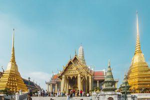 Exterior of Wat Phra Kaew