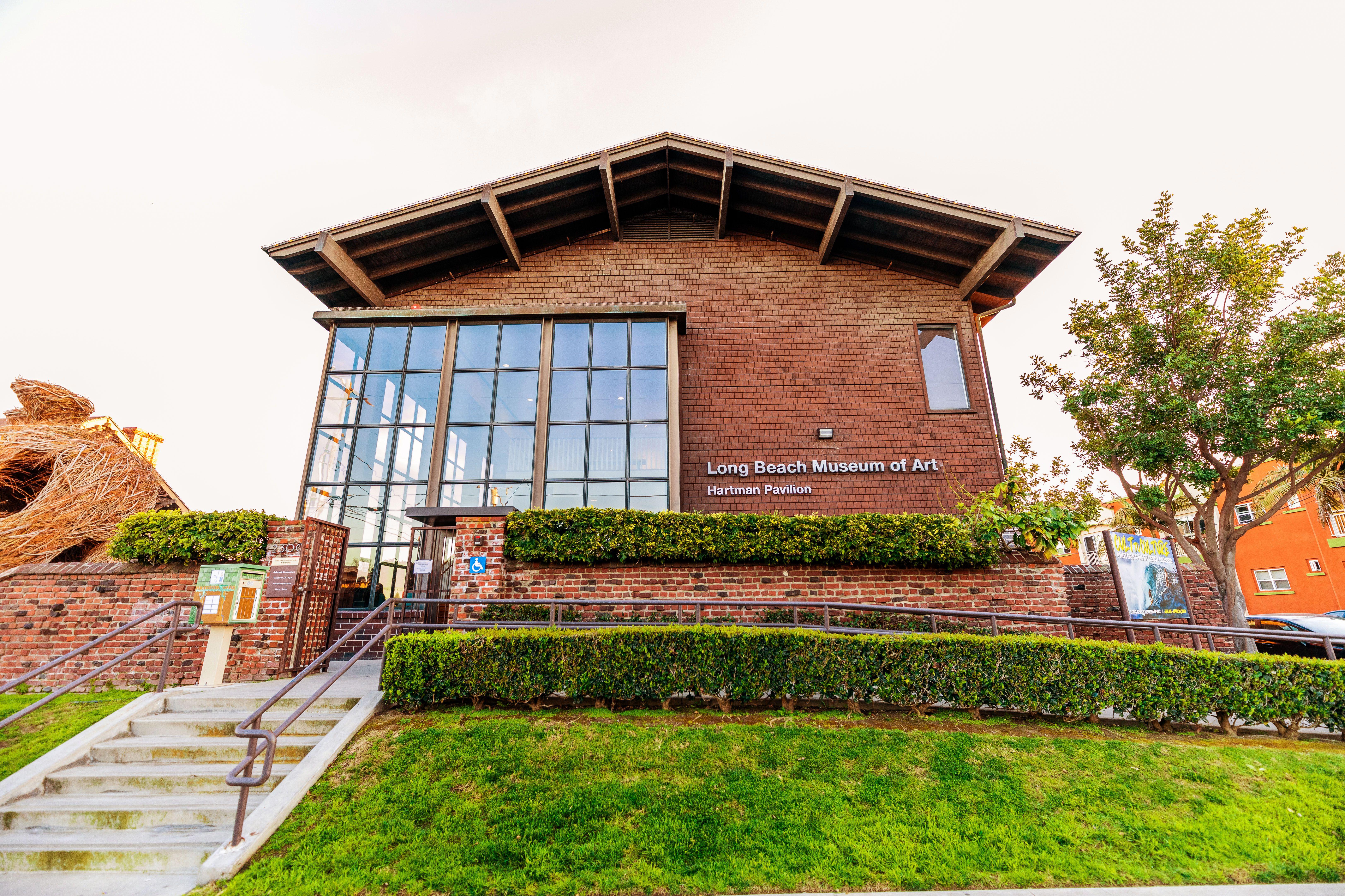 Exterior of the Long Beach Museum of Art