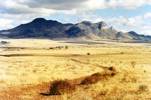 A picturesque landscape near Patagonia, Arizona