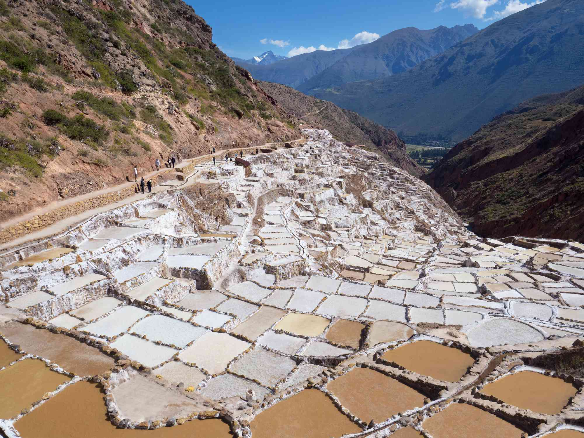 The Maras Salt Mines of Peru - overview 17