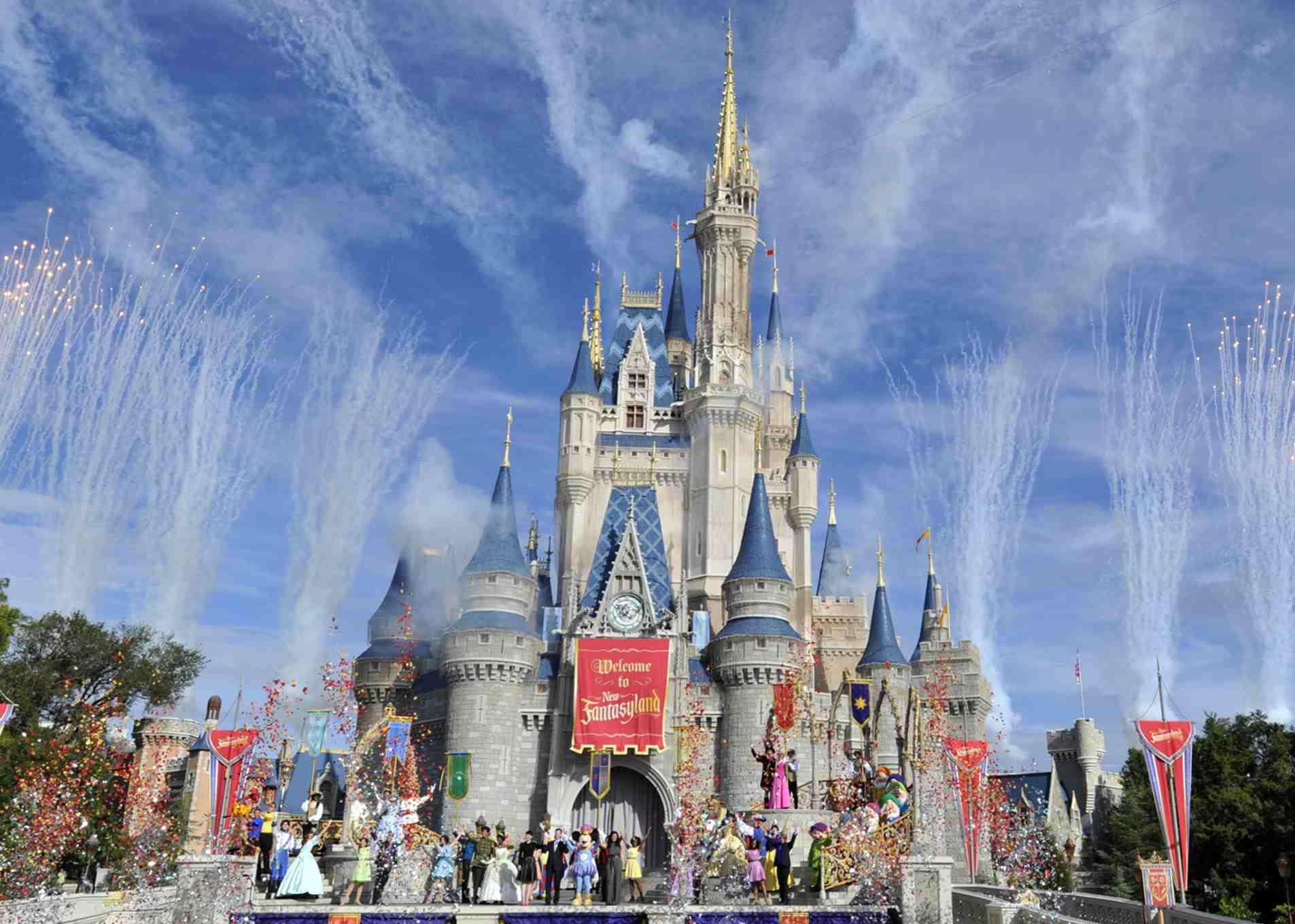 Cinderella Castle at the Magic Kingdom