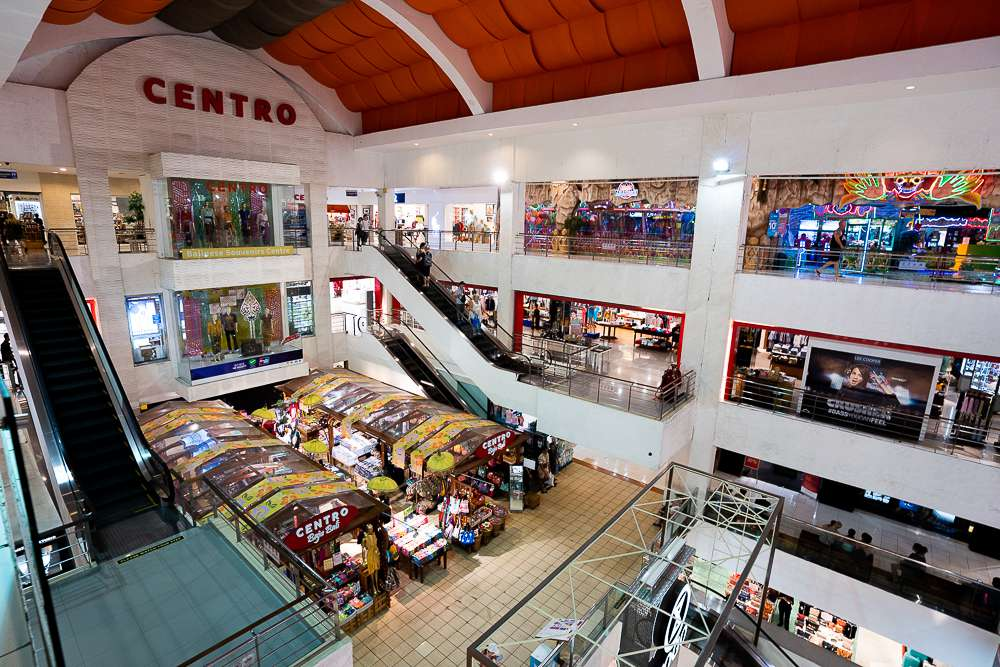 Interior of the many shops in Discovery Mall