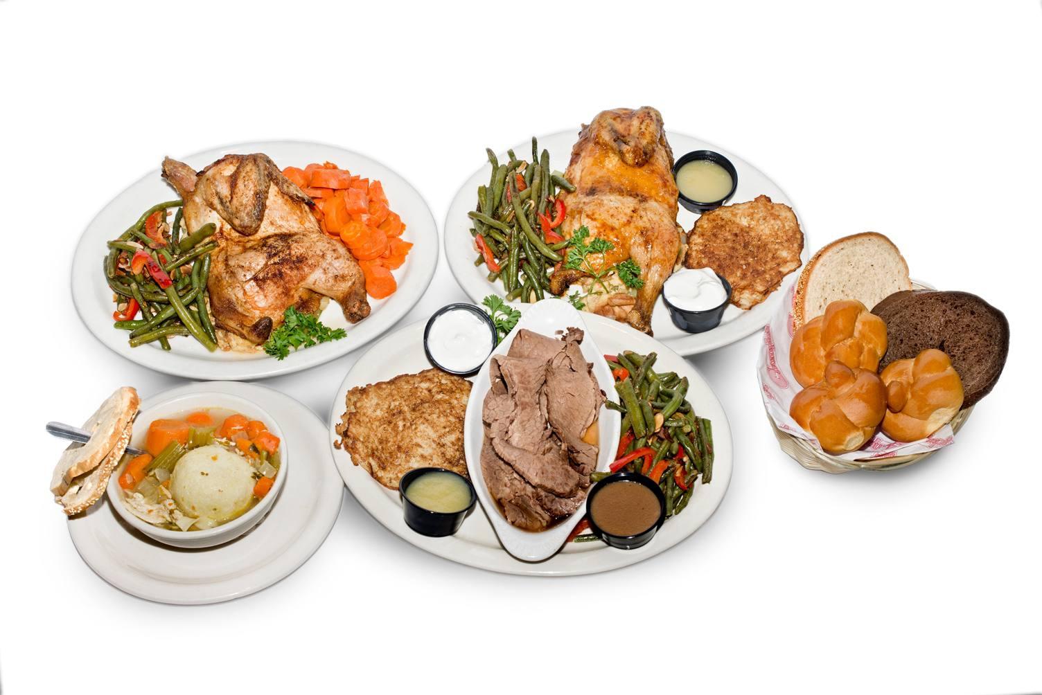 Chompie's dinner spread