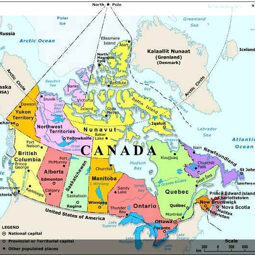 Map Of Ne Canada Plan Your Trip With These 20 Maps of Canada