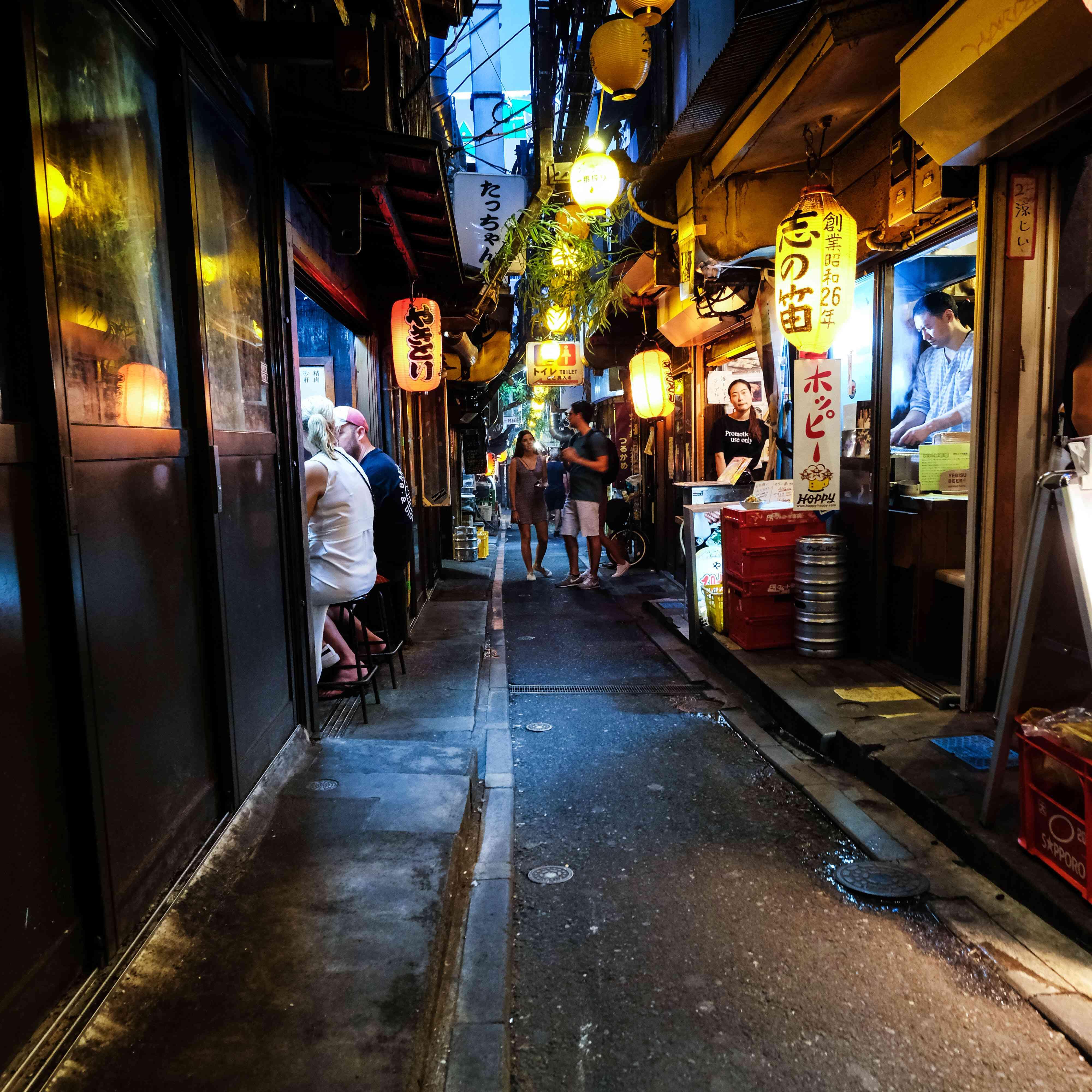 Alleyway in Memory Lane