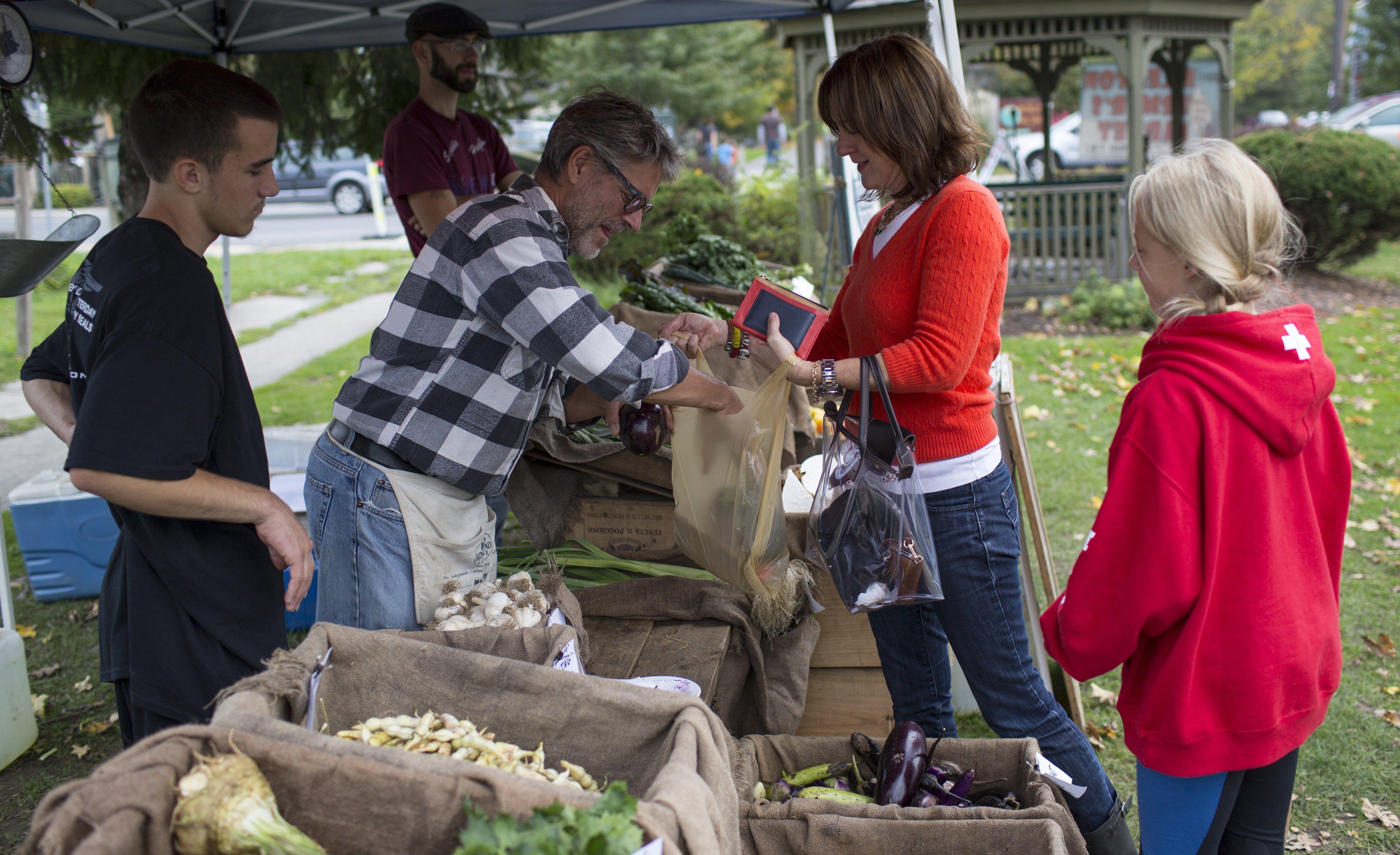 Best Hudson Valley Farmers' Markets