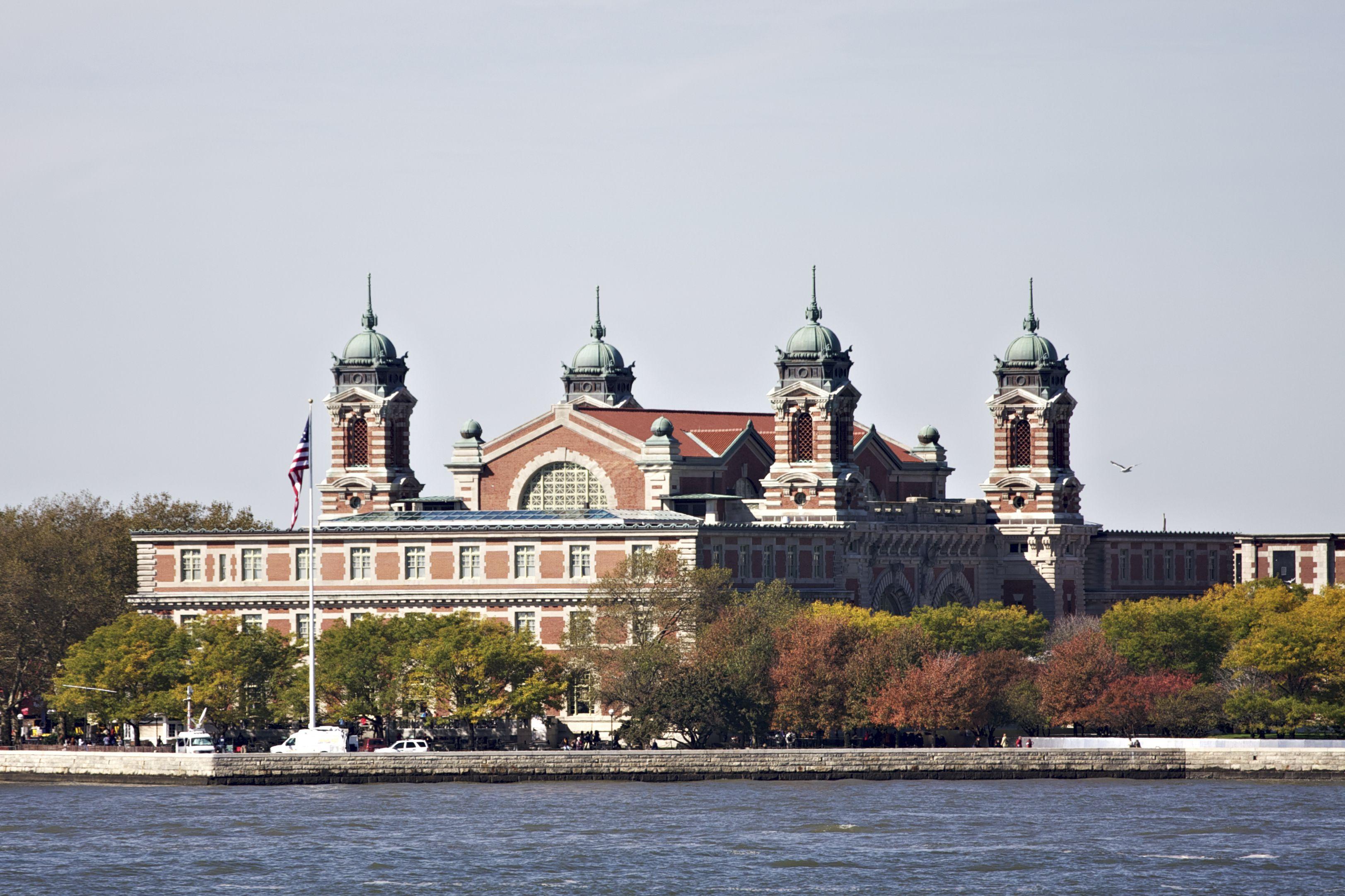 Ellis Island in New York City