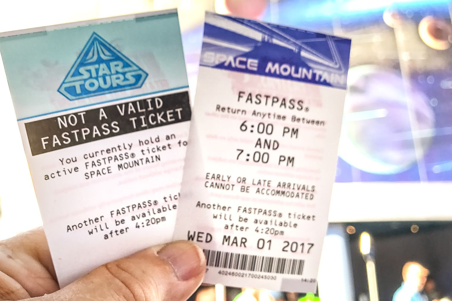 Getting And Using A Disney Fastpass And Maxpass