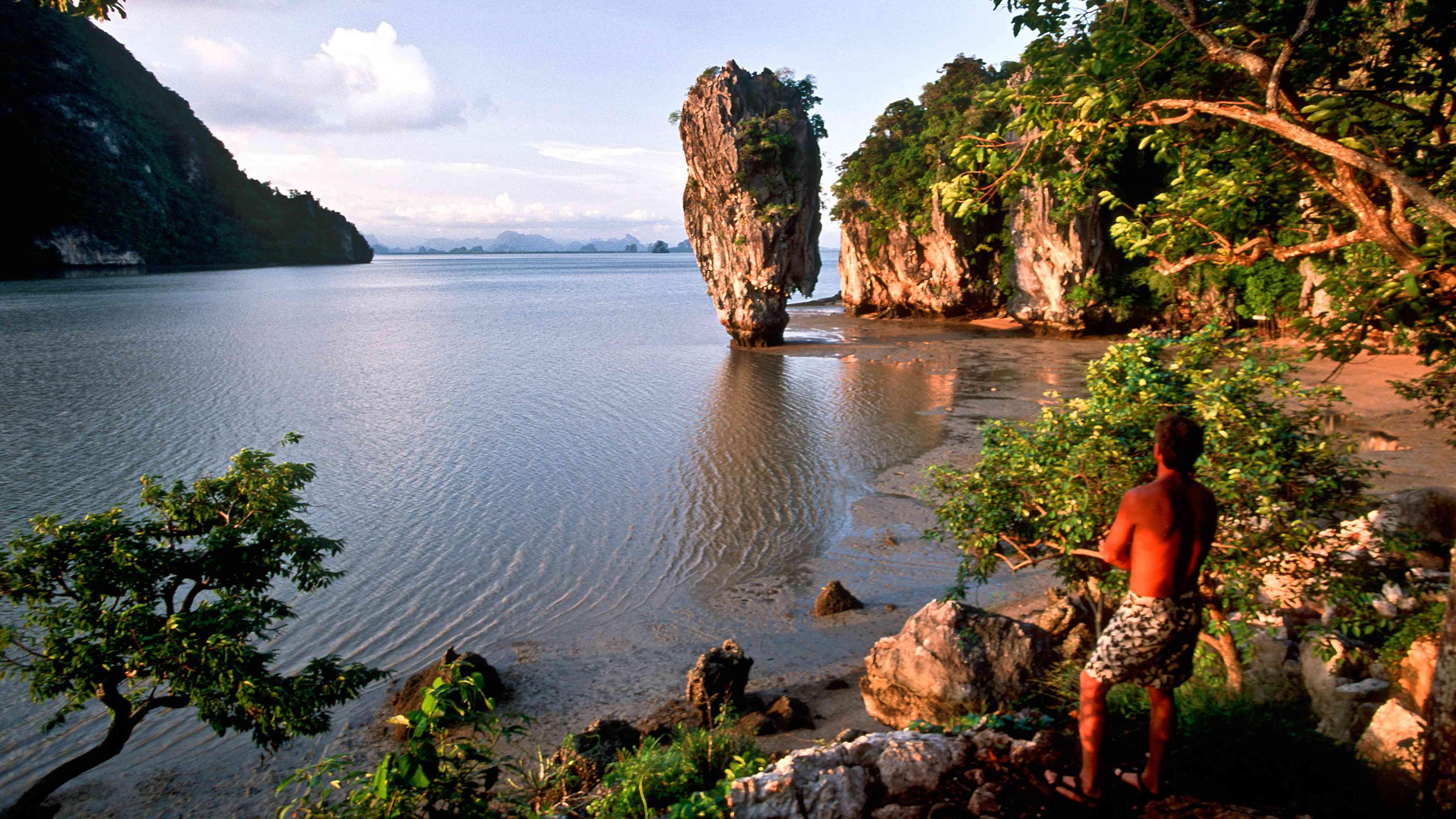 Koh Tapu in Phang Nga Bay, Thailand