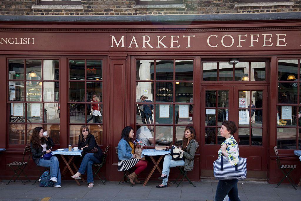 The Market Coffee House, Spitalfields, London