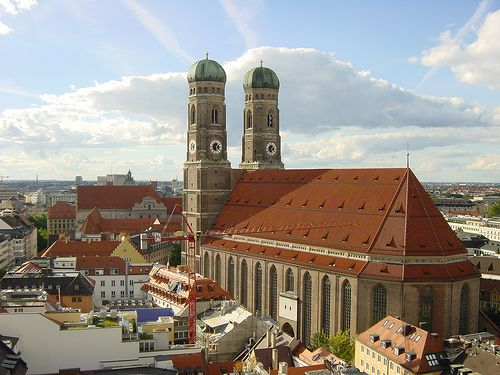 Frauenkirche in Munich, Germany