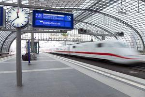 Train in Berlin, Germany