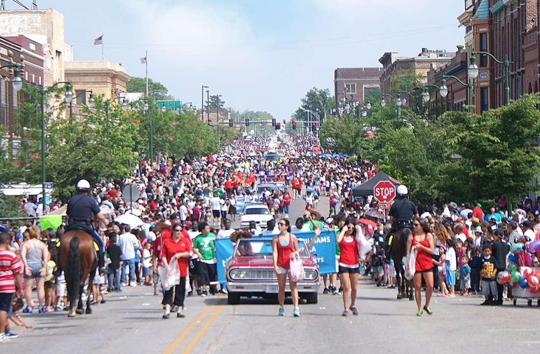 Cinco de Mayo parade on 24th Street in Omaha