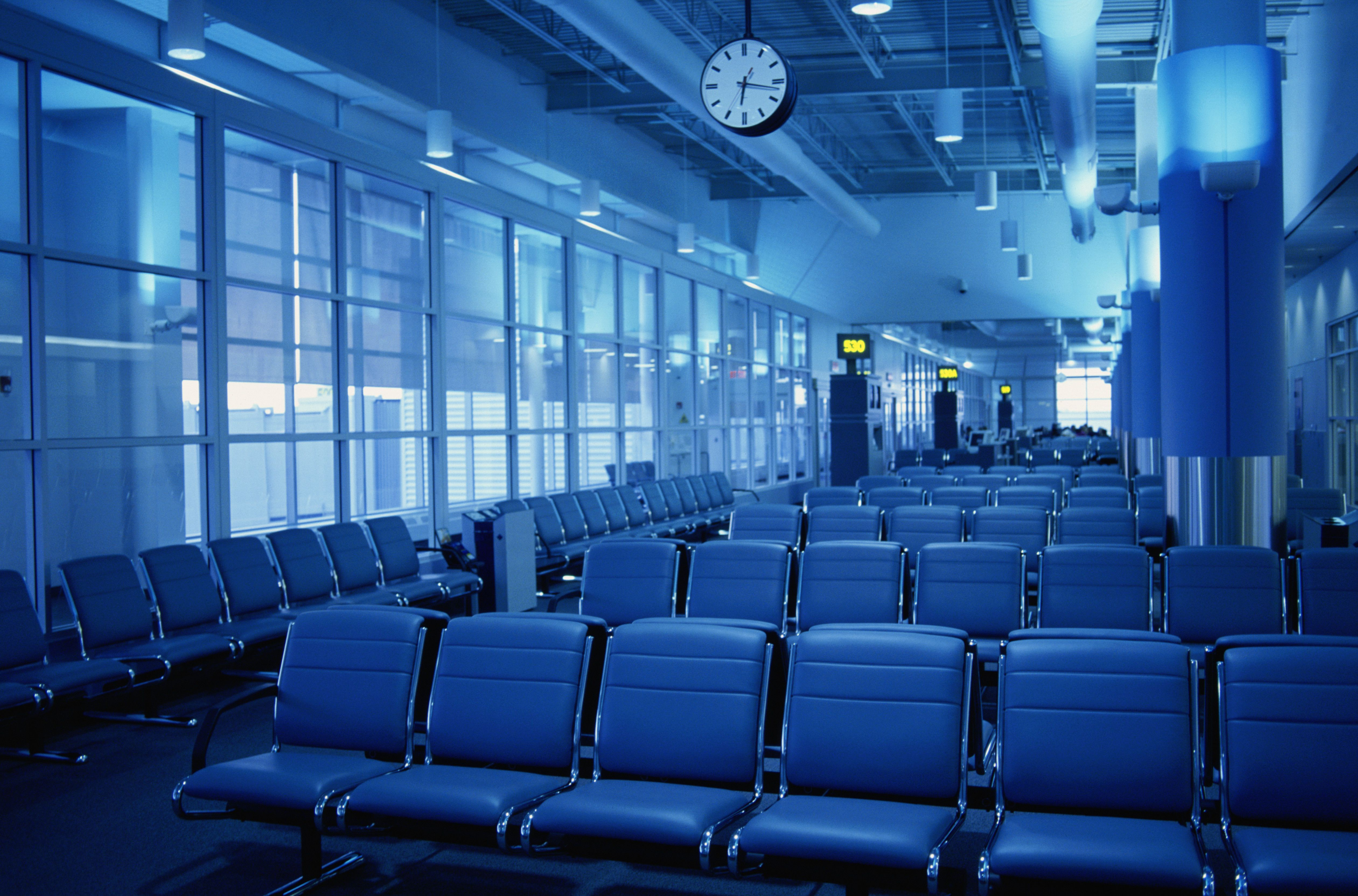 Toronto Pearson Airport chairs