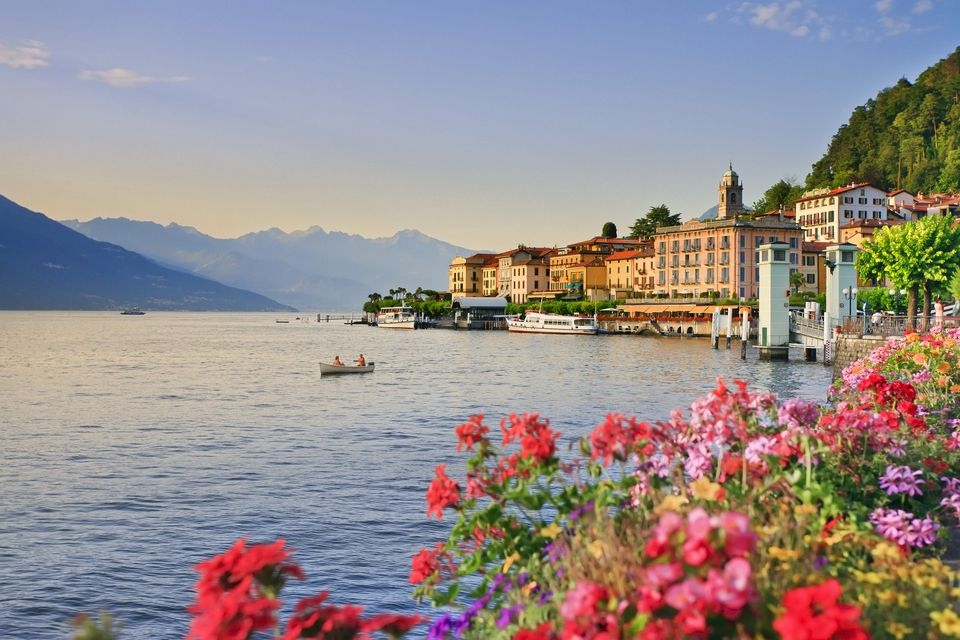 View of Bellagio in Italy, Lombardy