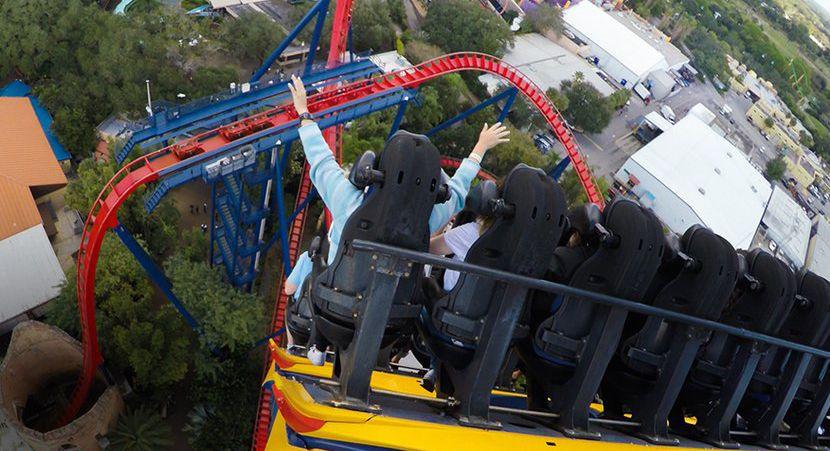 SheiKra coaster at Busch Gardens