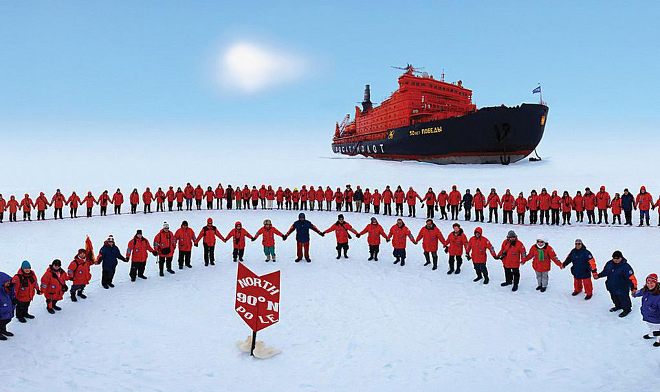 North Pole Cruise aboard 50 Years of Victory