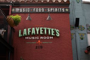 Lafayette's Music Room in Memphis, Tennessee