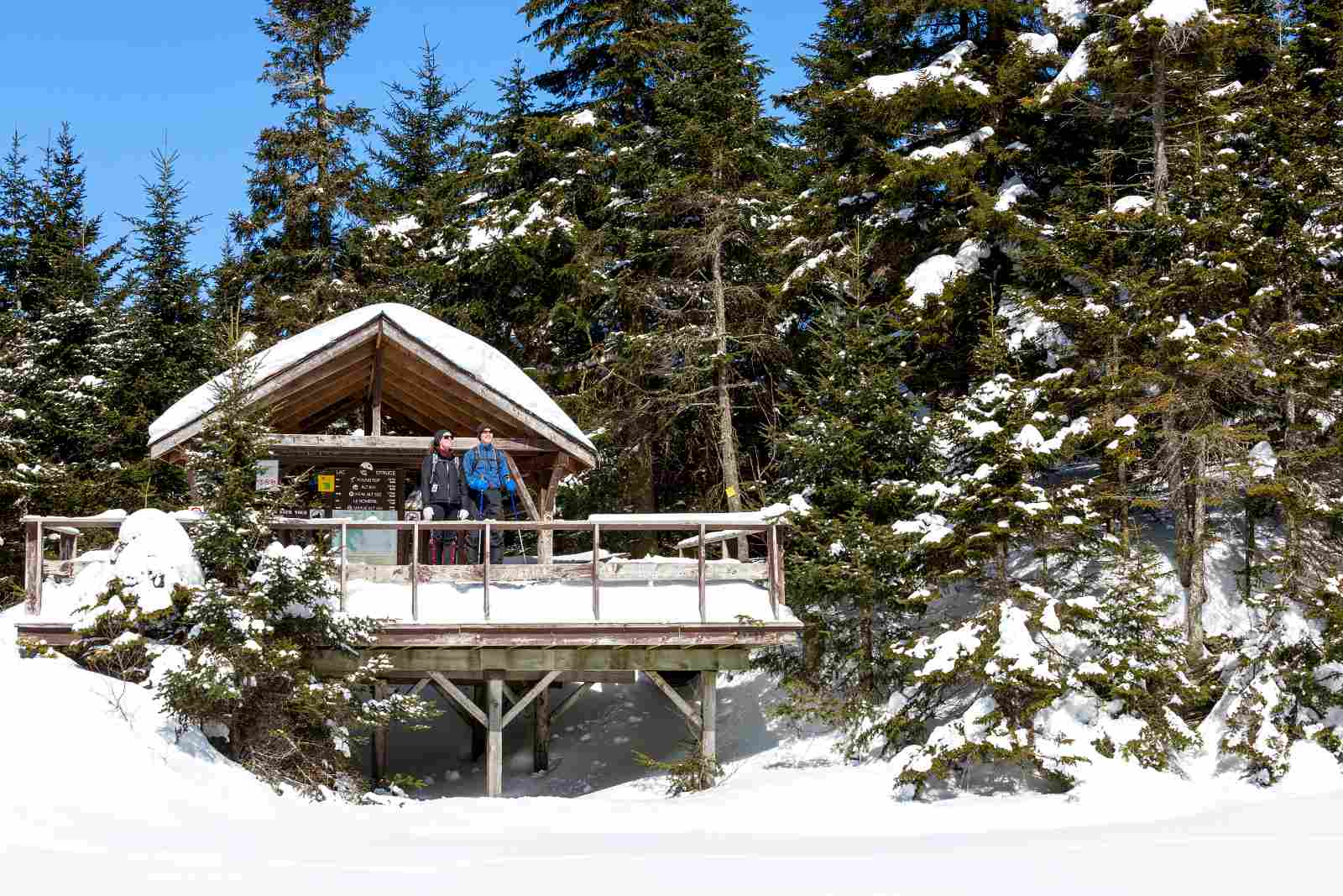 Top winter hikes near Montreal include Mont Sutton