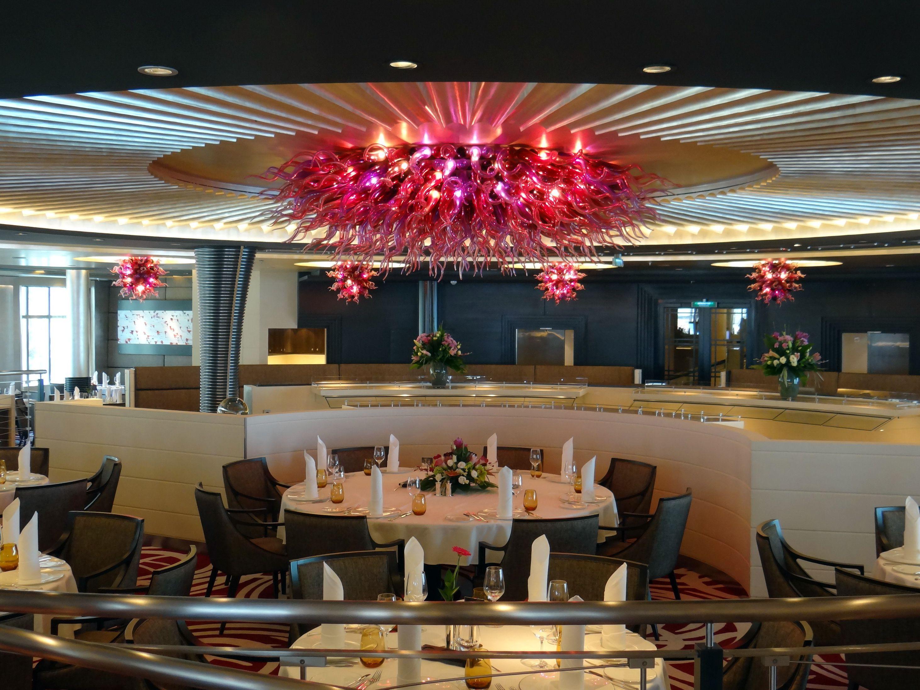Restaurante Weltmeere en el crucero Europa 2