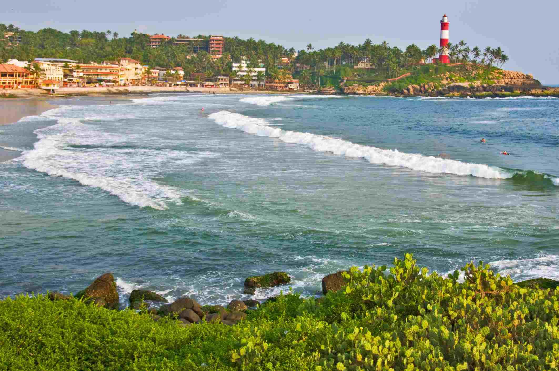 Playa Kovalam, Kerala
