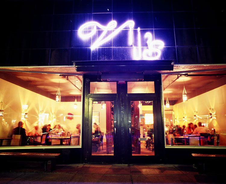 Fuera del restaurante de Vij