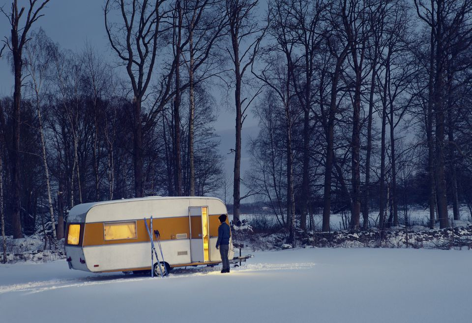 RV Winter Camping