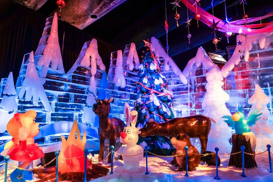 Ice At Gaylord Palms Orlando Is A Must See Holiday Event