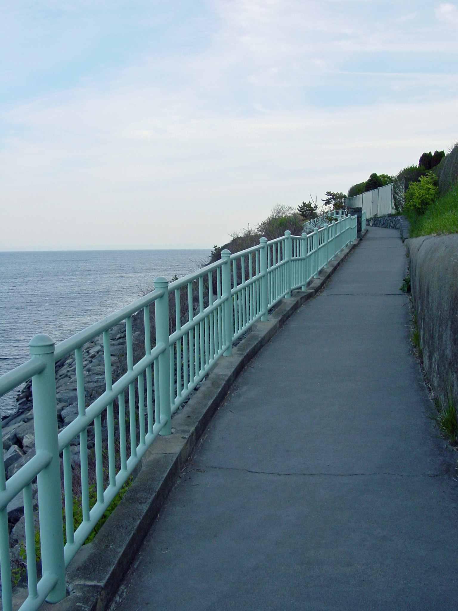 Cliff Walk in Newport RI