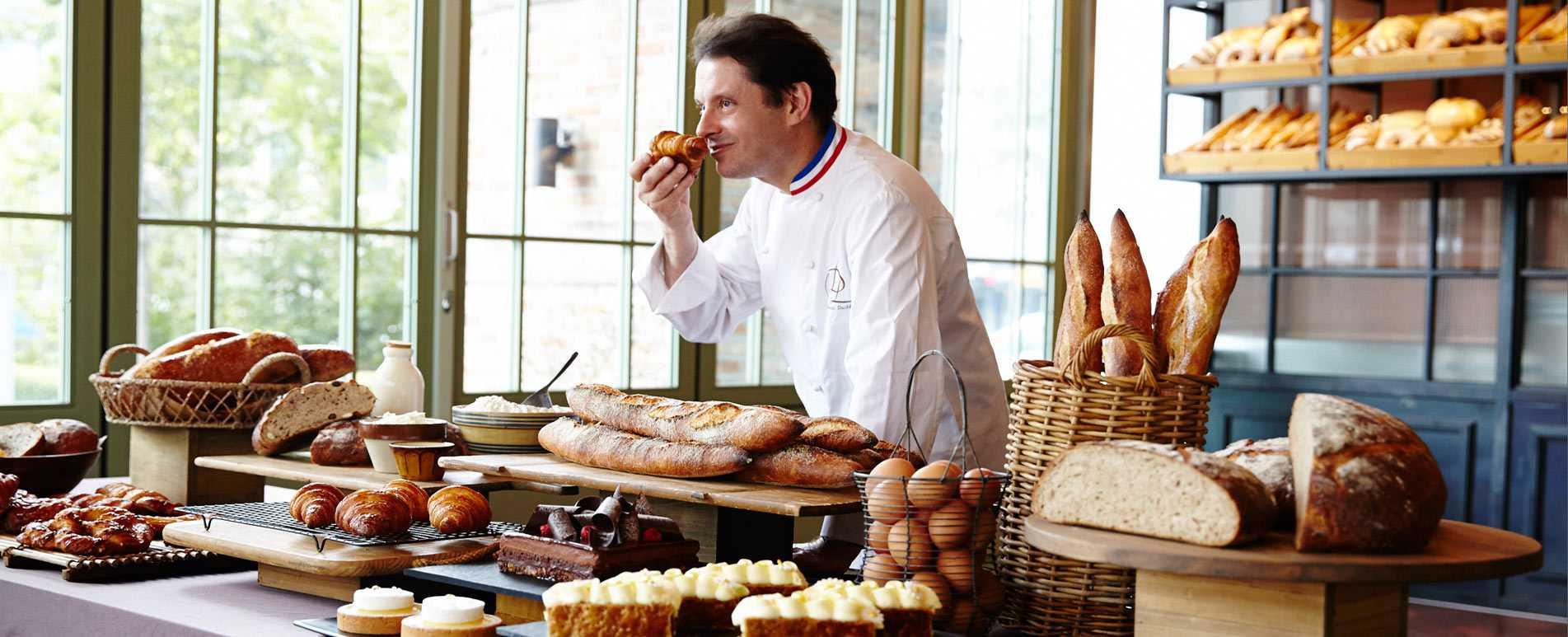 Laurent Duchene, past winner of the best butter croissant title in Paris