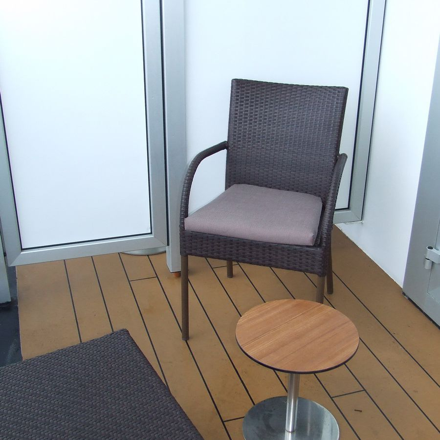 Eurodam Deluxe Verandah Oceanview Stateroom #6014