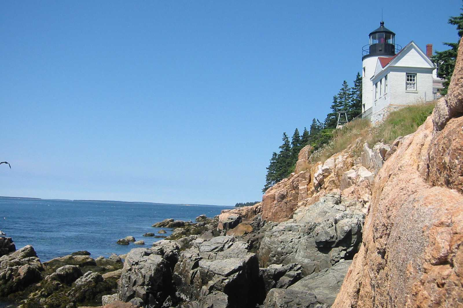 Faro de Bass Harbor Head