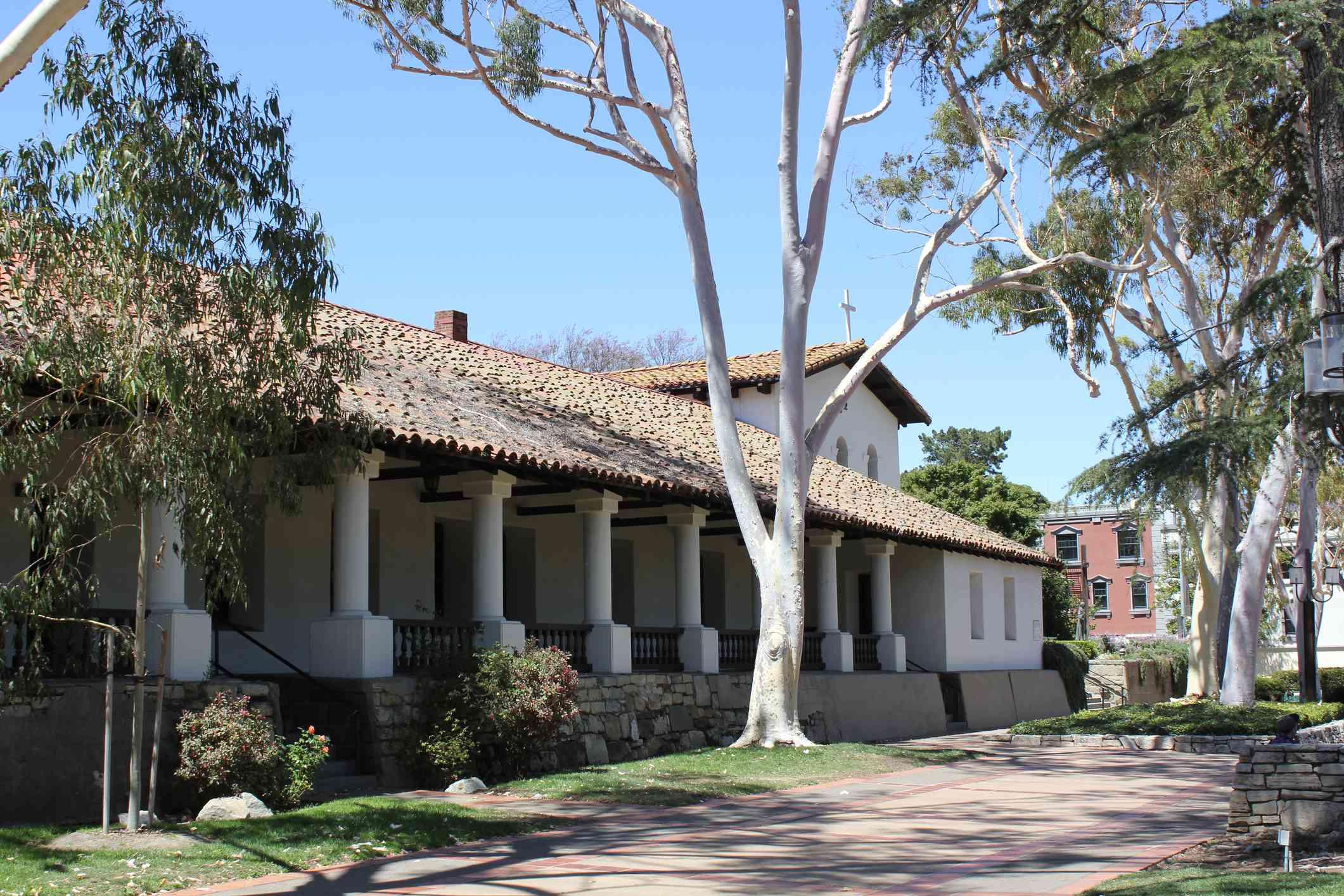 Mission San Luis Obispo Exterior